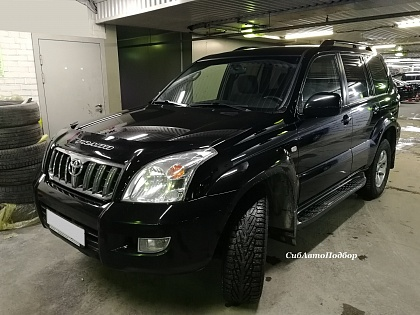 Осмотр Toyota Land Cruiser Prado 2007