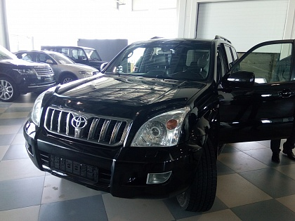 Осмотр Land Cruiser Prado
